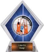 PR2 Volleyball Blue Diamond Ice Trophy