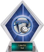 ProSport Volleyball Blue Diamond Ice Trophy
