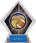 Americana Football Black Diamond Ice Trophy