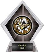 Bust-Out Football Black Diamond Ice Trophy