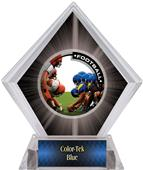 PR1 Football Black Diamond Ice Trophy