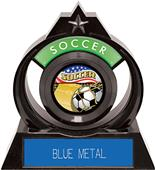 "Hasty Awards Eclipse 6"" Americana Soccer Trophy"