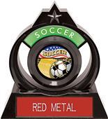 "Hasty Awards Eclipse 6"" Americana Soccer Trophy"