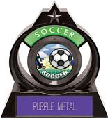 """Hasty Awards Eclipse 6"""" HD Soccer Trophy"""