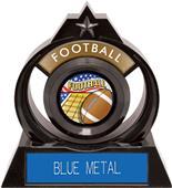 "Hasty Awards Eclipse 6"" Americana Football Trophy"