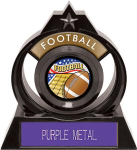PURPLE METAL PLATE