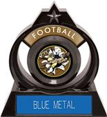 """Hasty Awards Eclipse 6"""" Bust-Out Football Trophy"""