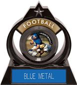 """Hasty Awards Eclipse 6"""" P.R.2 Football Trophy"""