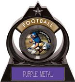 "Hasty Awards Eclipse 6"" P.R.2 Football Trophy"