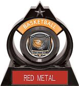 "Hasty Awards Eclipse 6"" Shield Basketball Trophy"