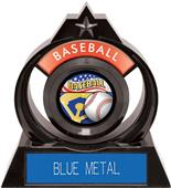 "Hasty Awards Eclipse 6"" Americana Baseball Trophy"