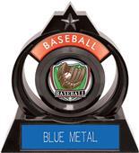 "Hasty Awards Eclipse 6"" Shield Baseball Trophy"