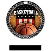 Awards Crest Basketball Medal Patriot M-8650B