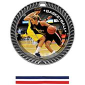 Awards Crest Basketball Medal P.R.Female M-8650B