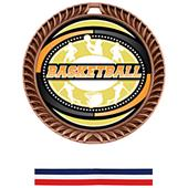 Awards Crest Basketball Medal Classic M-8650B