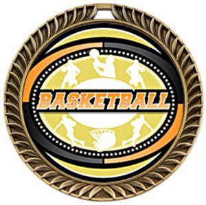 GOLD MEDAL/AMERICANA BASKETBALL NECK RIBBON