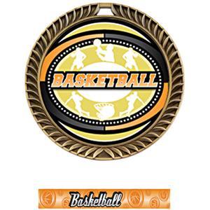 GOLD MEDAL/GRAPHX BASKETBALL NECK RIBBON