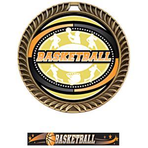 GOLD MEDAL/ULTIMATE BASKETBALL NECK RIBBON