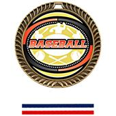 Hasty Awards Crest Baseball Medal Bust-Out M-8650C