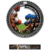 Hasty Awards Crest Football Medal P.R.1 M-8650F