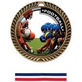Hasty Awards Crest Football Medal P.R.1 M-8650F