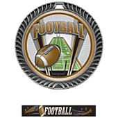 Hasty Awards Crest Football Medal ProSport M-8650F