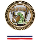 Hasty Awards Crest Football Medal ProSport M-8650F