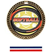 Hasty Awards Crest Softball Medal Classic M-8650O
