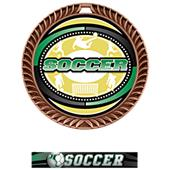 Hasty Award Crest Soccer Medal Classic M-8650S