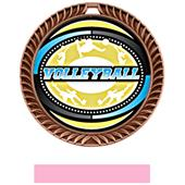 Hasty Award Crest Volleyball Medal Classic M-8650V