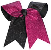 Pizzazz Glitter Twister Hair Bow