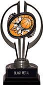 "Black Hurricane 7"" Bust-Out Basketball Trophy"