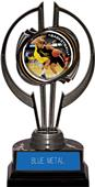 "Black Hurricane 7"" P.R. Female Basketball Trophy"