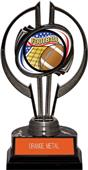 "Black Hurricane 7"" Americana Football Trophy"