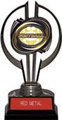 "Black Hurricane 7"" Classic Football Trophy"