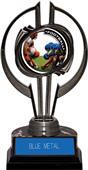 "Black Hurricane 7"" P.R.1 Football Trophy"