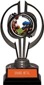 "Black Hurricane 7"" P.R.1 Football Trophy"