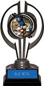 "Black Hurricane 7"" P.R.2 Football Trophy"
