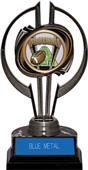 "Black Hurricane 7"" ProSport Football Trophy"