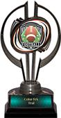 "Black Hurricane 7"" Shield Football Trophy"