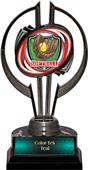 "Awards Black Hurricane 7"" Shield Softball Trophy"