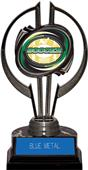 "Awards Black Hurricane 7"" Classic Soccer Trophy"