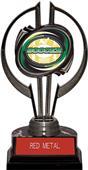 "Awards Black Hurricane 7"" Classic Soccer Trophy"