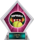 Awards Patriot Softball Pink Diamond Ice Trophy