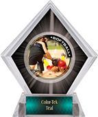 Awards P.R.2 Softball Black Diamond Ice Trophy
