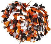 Pizzazz 3 Color Plastic Cheerleaders Poms