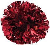 Pizzazz 1 Color Metallic Cheerleaders Poms