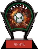 "Hasty Awards 6"" Stealth Soccer Resin Trophies"