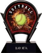 "Hasty Awards 6"" Stealth Softball Resin Trophies"