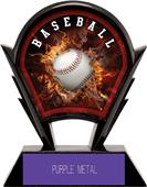 "Hasty Awards 6"" Stealth Baseball Resin Trophies"